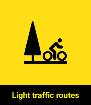 Light traffic routes