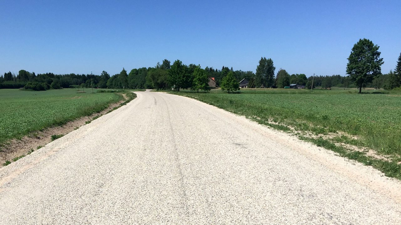 Experimental road section of Viljandi, Estonia